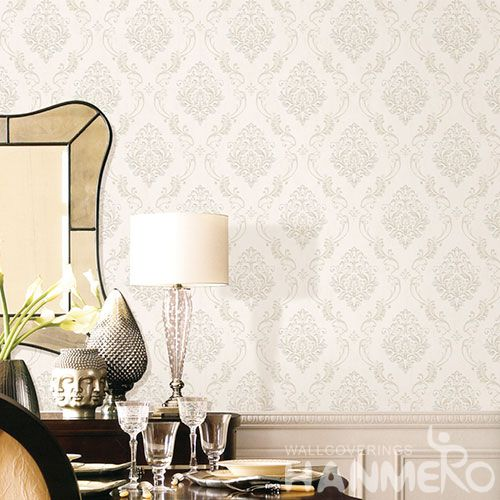 HANMERO Beautiful Design Modern Eiropean Style Non-woven Wallpaper 0.53 * 10M Photo Quality Chinese Wallcoverin Dealer Home Decor