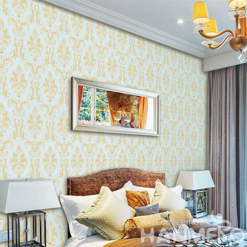 HANMERO Latest European Classic 0.53 * 10M Non-woven Wallpaper from Chinese Wallcovering Manufacturer Kitchen Living Room Decoration