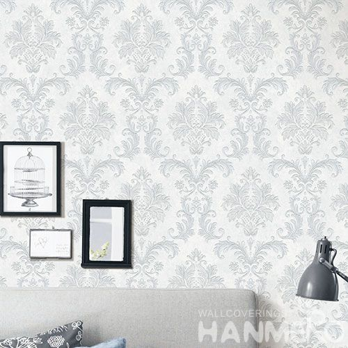 HANMERO Stylish Removable 0.53 * 10M Non-woven Wallpaper Modern European Style for Living Room TV Background Decor in Stock High Quality