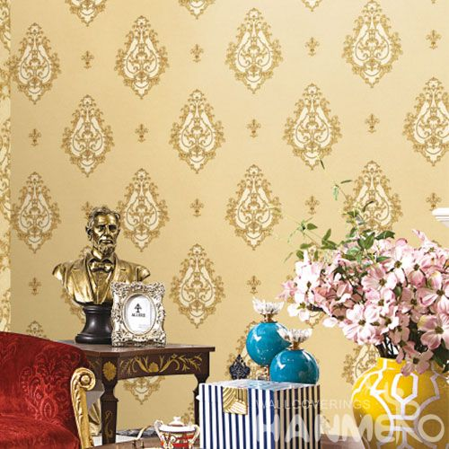 HANMERO New Fashion 0.53 * 10M Design Vinyl PVC Wallpaper for Living Room Bathroom Wall Manufacturer Designer from China