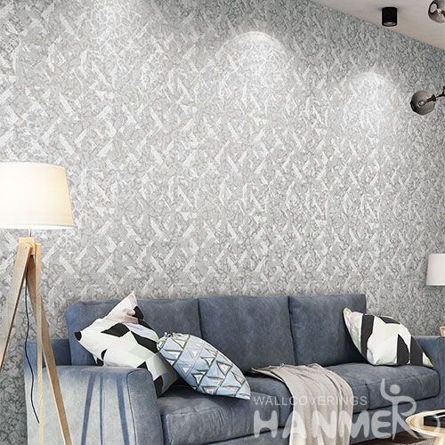 HANMERO Best Selling High Quality Non-woven 0.53*10m Wallpaper Free Samples for TV Bachground Wall