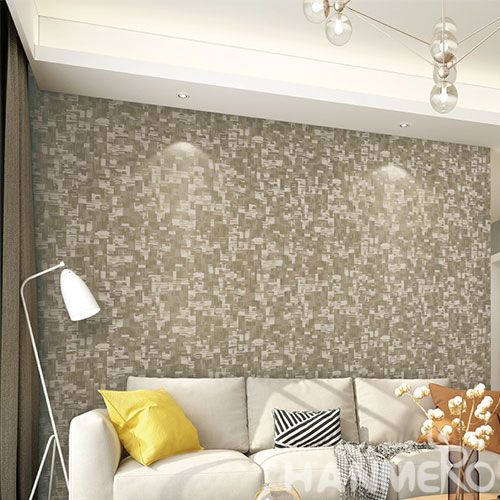 HANMERO Strippable Modern Non-woven Wallpaper Interior Household Decoration 0.53*10m/Roll Wholesaler Exporter from China