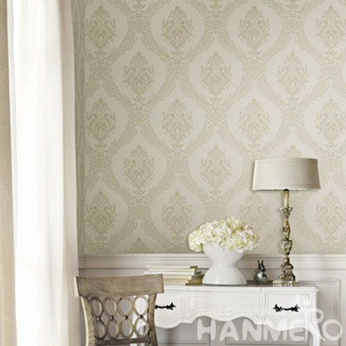 HANMERO Modern Chinese Factory Wallcovering 0.53 * 10M / Roll Non-woven Interior Wallpaper Catalogue Wall Decorative