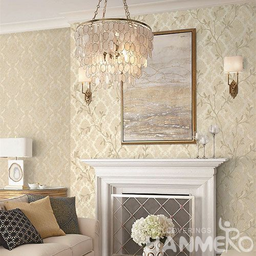 HANMERO Buy New Fashion 1.06M PVC Classic Wallpaper for Living Room Bedroom Wall Manufacturer Designer From China