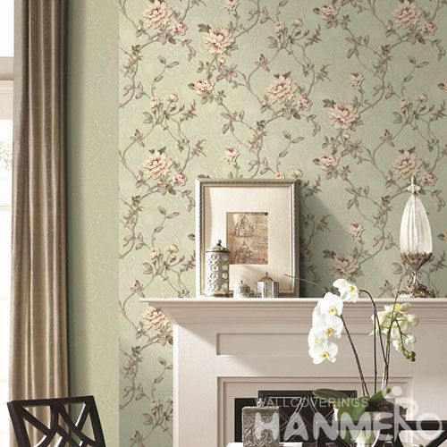 HANMERO Buy Economical Affordable Decorative Home Interior Wallpaper 1.06M PVC Korea Design Wallcovering from Chinese Vendor