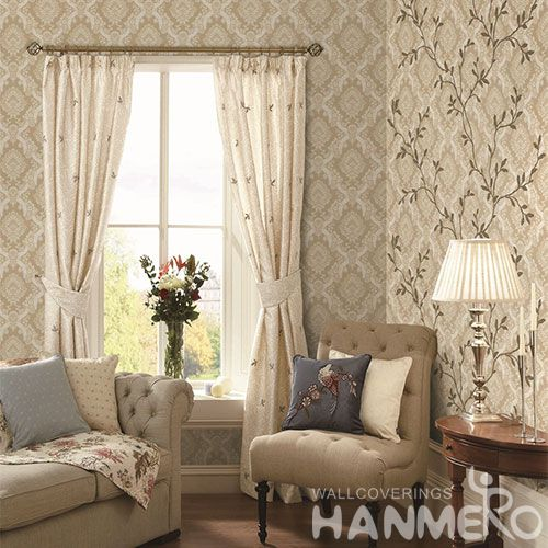 HANMERO PVC 1.06M New Design Decorative Wallpaper for Household Interior in Modern Style with Wholesale Prices