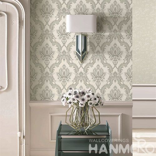 HANMERO Hot Top Selling Room Decor Wallpaper PVC 1.06M Exported Wallcovering in Modern Style from Chinese Manufacture