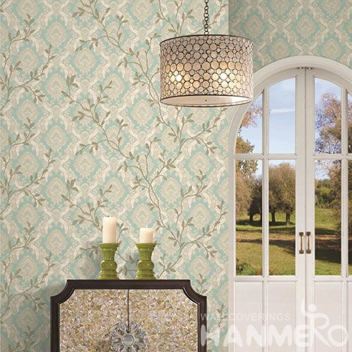 HANMERO Top-grade European Style 1.06M PVC Wallpaper Best Prices for Interior Wall Design from Chinese Wholesaler