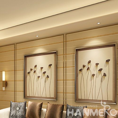 HANMERO Modern Simple Design 0.53 * 10M Suede Wallpaper Manufacture from China Excellent Service Household Decor