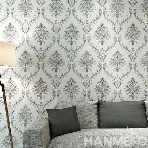 HANMERO Floral Household Office Wall Wallpaper PVC 0.53 * 10M Wallcovering from Chinese Factory Modern European Style