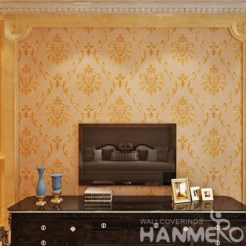 HANMERO PVC 0.53 * 10M Top Quality Living Room Wallpaper for Wall Decoration from Chinese Wholesaler