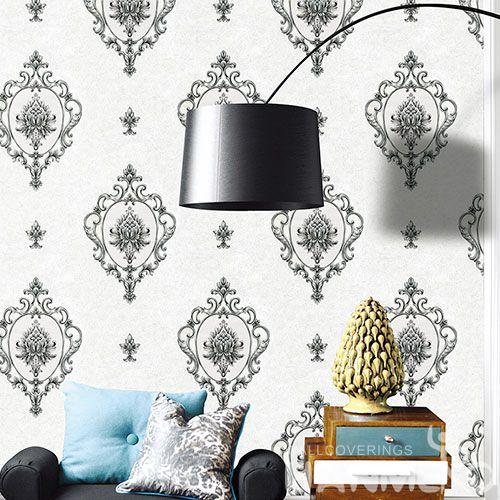 HANMERO Eco-friendly Natural Sense PVC Wallpaper 0.53 * 10M Living Room Decorating Wallcovering Latest