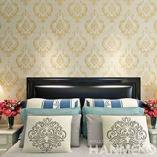 HANMERO New Fashion Classic Design PVC Wallpaper 0.53 * 10M / Roll for Household Decoration from China