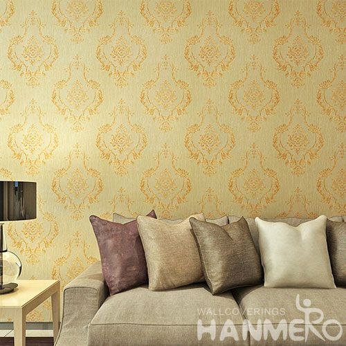 HANMERO Modern Popular Design 0.53 * 10M PVC Wallpaper Chinese Supplier for Luxury Home Decoration