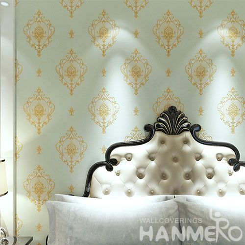 HANMERO PVC Strippable European Style Wallpaper Professional Chinese Wallcovering Exporter Cheap Prices