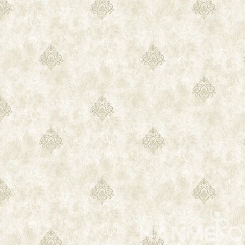 HANMERO European Non-woven Embroidery 0.53*10M Green Floral Wallpaper Supplier From China