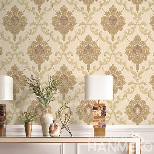 HANMERO Eco-friendly Nature Sense PVC Korea Design Wallpaper in Modern Style for Elegant Home Decoration