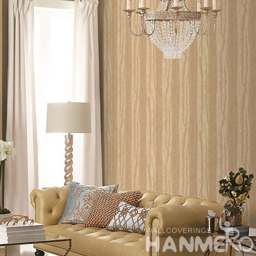 HANMERO Removable Chinese Supplier PVC 1.06M Wallpaper Cozy Color for Home Decoration with Simple Designs from Chinese Factory