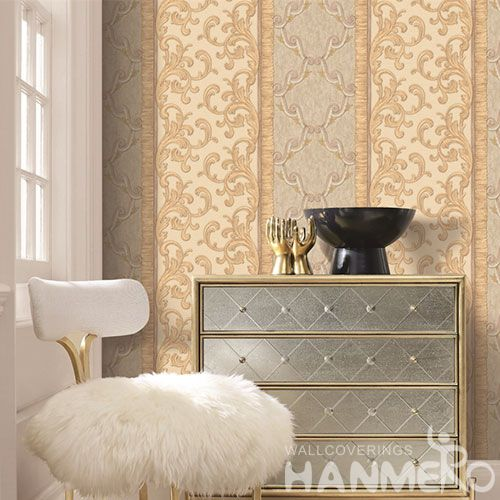 HANMERO 1.06M PVC Classic and Modern Design Wallpaper Fresh Hot Selling Wallcovering Factory Sell Directly