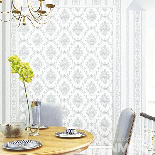 HANMERO Damask 0.53 * 10M Classic Latest Unique Non-woven Wallpaper with Top-grade Quality Sofa Background Wall Decor from Chinese Dealer