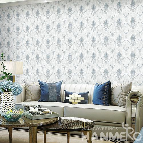 HANMERO Modern New Arrival Non-woven 1.06M Wallpaper Classic Pattern for Sofa Background Wall Design Wallcovering Chinese Dealer