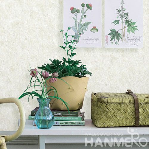 HANMERO Eco-friendly Nature Sense PVC Wallpaper 0.53 * 10M Simple Design Living Room Decorating Wallcovering Latest