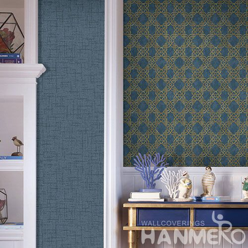 HANMERO Modern PVC Natural Material Wallpaper with Fashion Stylish Designs for Wallcovering Distributors Sellers