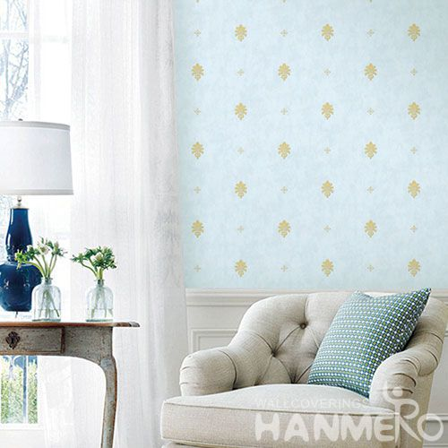 HANMERO Modern Simple Design Competitive Prices PVC Wallpaper Sofa TV Background Wall Wallcovering Wholesaler Top Grade