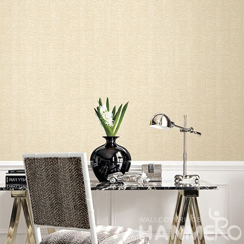 HANMERO Modern Removable Eco-friendly Simple Designs PVC Deep Embossed Wallpaper for Interior Home Decoration Factory Sell Directly