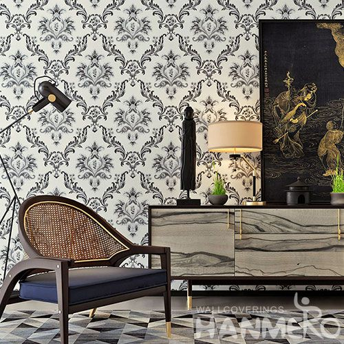 HANMERO Classic Stylish Design Wallpaper PVC 0.53 * 10M for Cozy Home Decoration from China Supplier High Quality