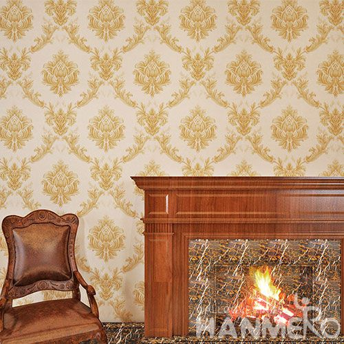 HANMERO European Classic Style Photo Quality Wallpaper PVC 0.53 * 10M Wallcovering Chinese Manufacturer Top Grade