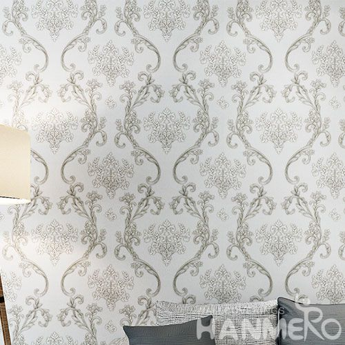 HANMERO Living Room Bedroom Strippable Modern European Embossed Wallpaper 0.53 * 10M PVC Wallcovering Wholesaler Exporter