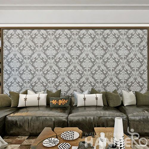 HANMERO Chinese Factory PVC 0.53 * 10M Eco-friendly Durable Wallpaper Professional Wallcovering Distributor CE Certificate