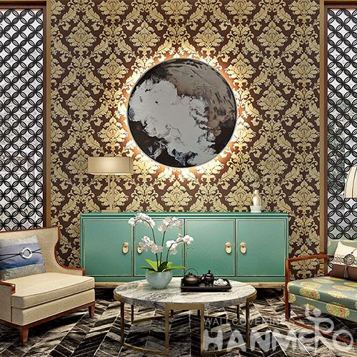 HANMERO Latest Luxury Decorative Wallcovering Chinese Factory Hot Sex PVC 0.53 * 10M Wallpaper Factory Wholesale Prices