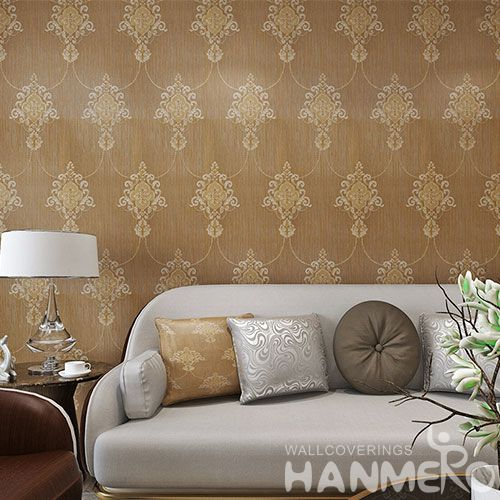 HANMERO European Hot Selling Wallpaper PVC Interior Wallcovering for Home Decoration from Chinese Supplier Newest