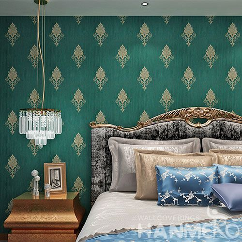HANMERO Chinese Manufacture Wall Decoration Wallpaper PVC Wallcovering for Bed Room Livingroom Decor on Sale