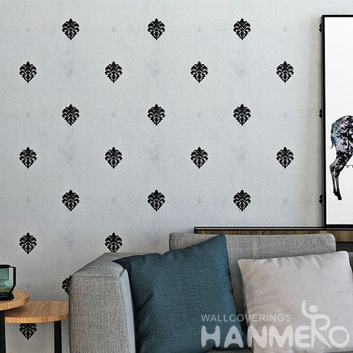 HANMERO Simple Design European Modern New Arrival Wallpaper for Sofa Background Wallcovering Dealer SGS CE Certificate