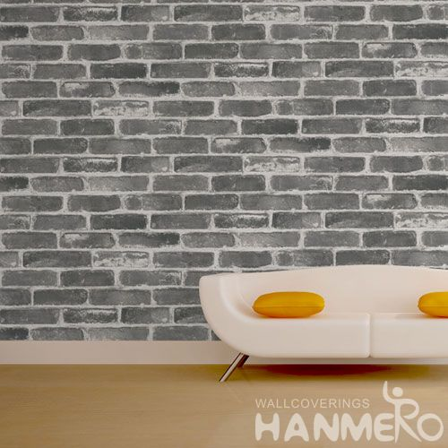 HANMERO Simple Eco-friendly PVC 0.53 * 10M 3D Stone Wallpaper Interior Design Chinese Exporter Nature Sense Home Room Decoration