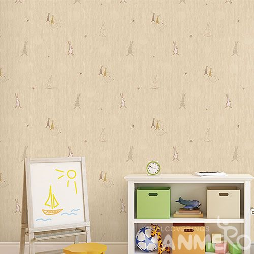 HANMERO Modern High Quality 0.53 * 10M Wallpaper Cartoon Design Animals Texture Household Room Wallcovering for Wholesale Prices