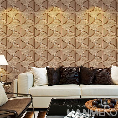 HANMERO PVC High Quality Best Prices 3D 1.06M Wallpaper for Interior Wall Design Wallcovering Vendor from Hubei China
