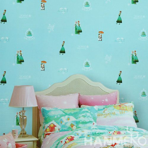 HANMERO Professional Home Kids Room Wallcovering 0.53 * 10M PVC Buy Wallpaper Online for Interior Wall Decoration