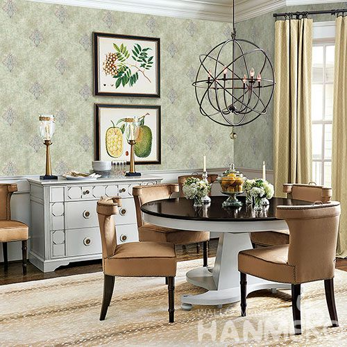 HANMERO Affordable Hot Selling Non-woven Embroidery Wallpaper Household Room Wallcovering with Competitive Prices from Chinese Dealer
