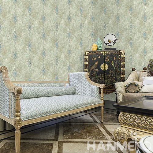 HANMERO Removable Eco-friendly Non-woven Embroidery Wallpaper from Chinese Exporter for Interior Home Decoration