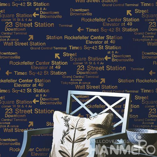 HANMERO New Style PVC Wallpaper 0.53 * 10M Nature Texture English Words Pattern Study Room Decor Chinese Wallcovering Dealer Latest