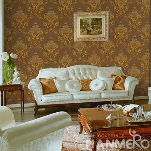 HANMERO PVC High Quality Best Prices PVC 1.06M Cheap Wallpaper for Sale Interior Wall Design Wallcovering Vendor from Hubei China