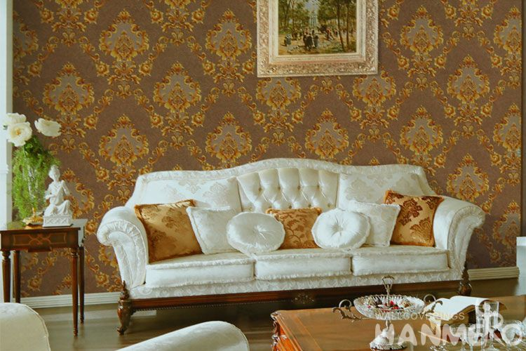 Hanmero Pvc High Quality Best Prices Pvc 1 06m Cheap Wallpaper For Sale Interior Wall Design Wallcovering Vendor From Hubei China