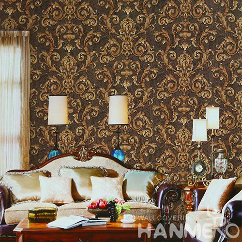 HANMERO 1.06M Latest Unique PVC Wallpaper Order Online with Top-grade Quality Sofa Background Wall Decor from Chinese Dealer