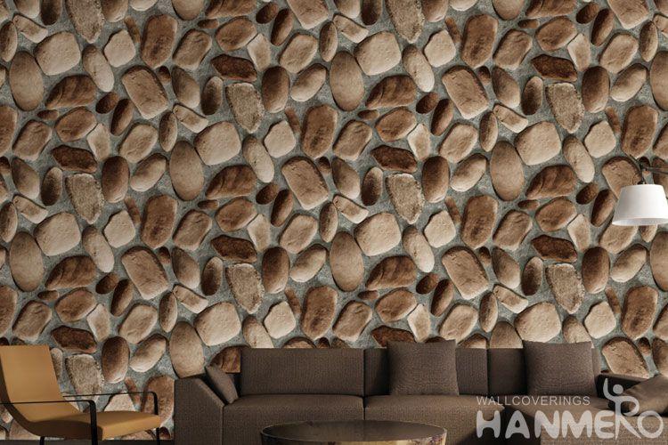 Hanmero Pvc 0 53 10m Stone Design Decorative Buy 3d