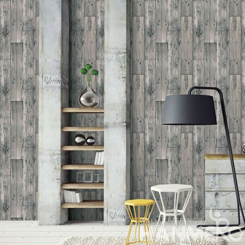 HANMERO PVC Economical Free 3D Wallpaper PVC 0.53 * 10M Wood Pattern Wllcovering  Hot Selling and Excellent Quality