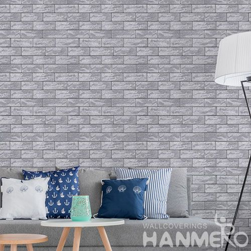 HANMERO Buy New Fashion 0.53 * 10M PVC 3D Wall Paper for Living Room Bedroom Wall Manufacturer Designer From China